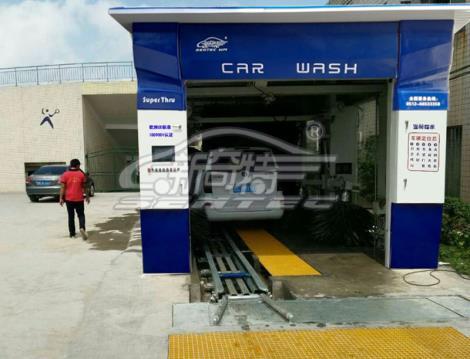 新奇特电脑洗车机设备价格 自动洗车设备