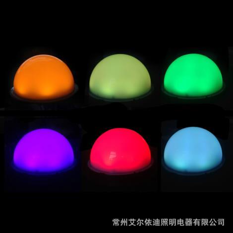 LED点光源内外控七彩单色防水户外跑马灯