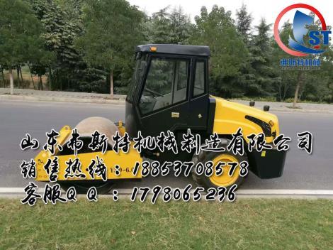 大压实显神威 座驾式6吨压路机厂家直销