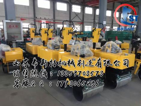 3大提升6大升级 手扶式双轮压路机厂家