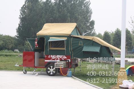 拖挂帐篷车(两室一厅)