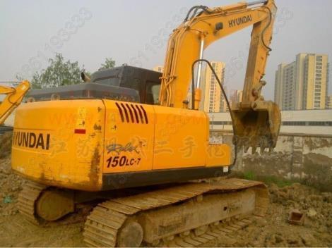 现代二手150-7挖掘机