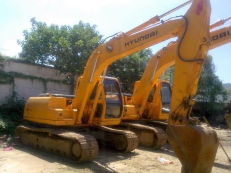 现代二手130-5挖掘机