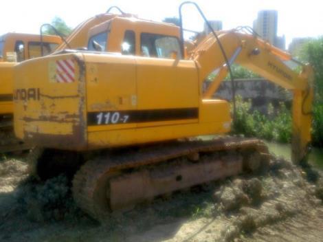 现代二手110-7挖掘机