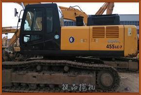 二手挖掘机现代455/485挖掘机