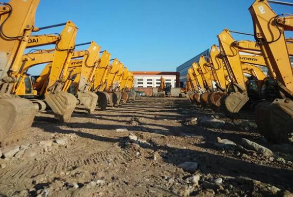 二手挖掘机现代215系列挖机