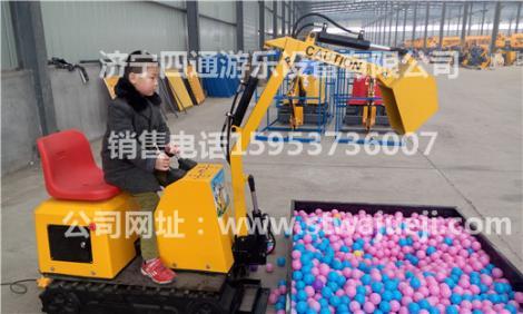 厂房占地300多亩 山东四通游乐设备有限公司
